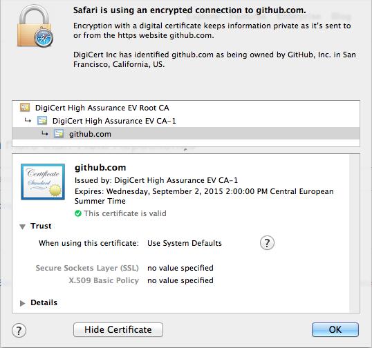 OPENSSL GET HTTPS CERTIFICATE CHAIN - Obtain the SSL